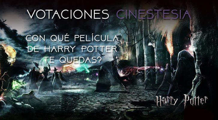 Votación: ¿Con qué película de Harry Potter te quedas?